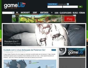 gamelib.com.br screenshot