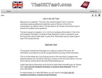 Thumbshot of Theuktest.com