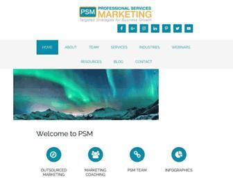 psm-marketing.com screenshot