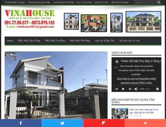 thietkenhadep24h.com screenshot