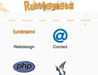 Thumbshot of Rubblewebs.co.uk