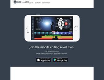 kinemaster.com screenshot
