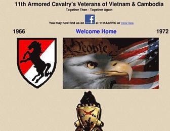 11thcavnam.com screenshot