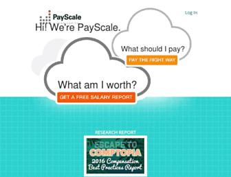 payscale.com screenshot