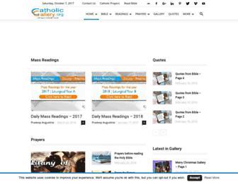 catholicgallery.org screenshot