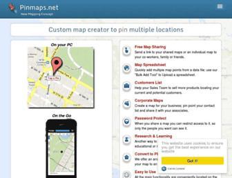 Thumbshot of Pinmaps.net