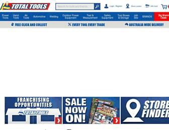 totaltools.com.au screenshot