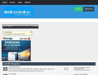 Thumbshot of Limitedsite.com