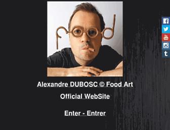 Main page screenshot of adubosc.free.fr