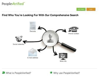 Thumbshot of Peopleverified.com