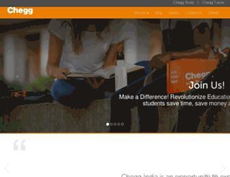 cheggindia.com screenshot
