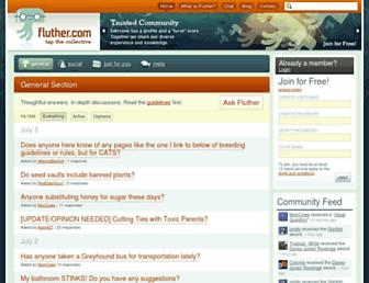 fluther.com screenshot