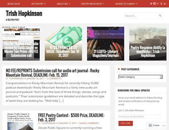 trishhopkinson.com screenshot