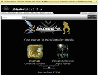 shadowlordinc.com screenshot