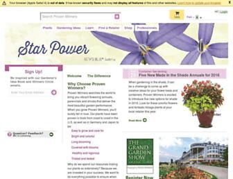 Thumbshot of Provenwinners.com