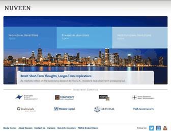 nuveen.com screenshot