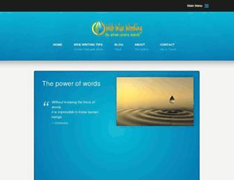 webwisewording.com screenshot