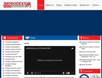 transporturiagabaritice.com.ro screenshot