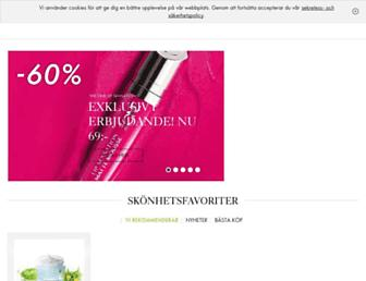 se.oriflame.com screenshot