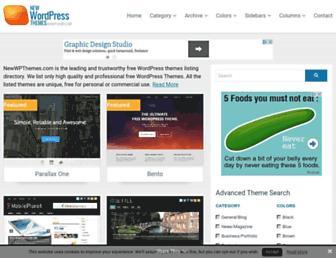 Thumbshot of Newwpthemes.com