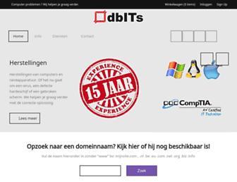 dbits.be screenshot