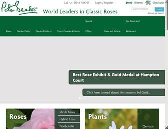 classicroses.co.uk screenshot
