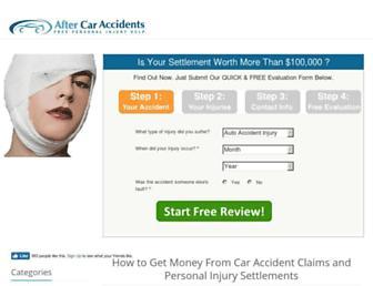 after-car-accidents.com screenshot