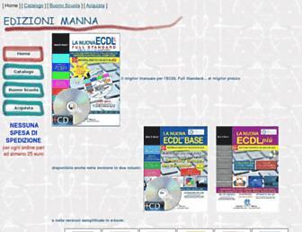 edizionimanna.com screenshot