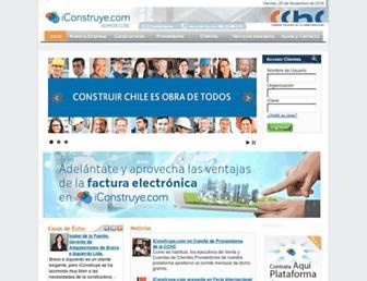 iconstruye.com screenshot