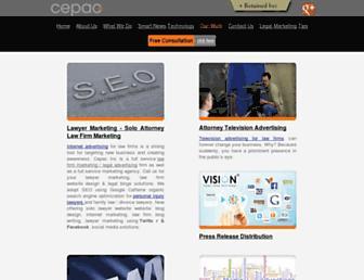 cepac.com screenshot