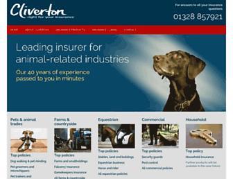 cliverton.co.uk screenshot