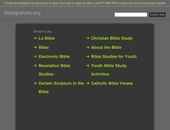 biblegratuite.org screenshot