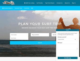 surfsleeptravel.com screenshot