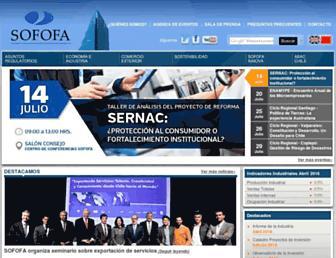 sofofa.cl screenshot