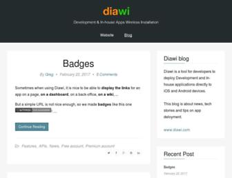 blog.diawi.com screenshot