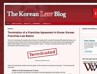 Thumbshot of Thekoreanlawblog.com