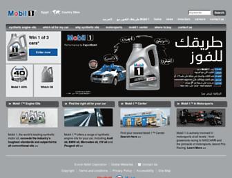 Thumbshot of Mobil1-egypt.com
