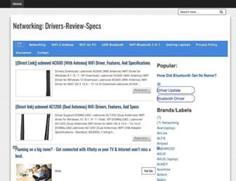 wireless-driver-center.blogspot.com screenshot