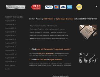 toughbookrescue.com screenshot