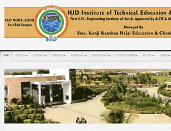 hjdinstitute.org screenshot