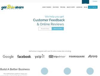 Thumbshot of Getfivestars.com