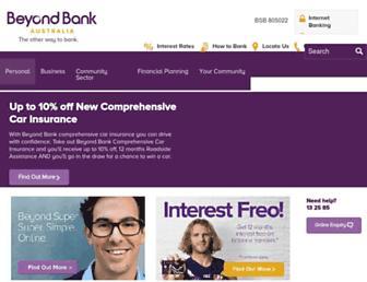 Thumbshot of Beyondbank.com.au
