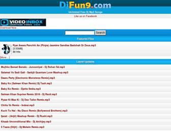 djfun9.com screenshot