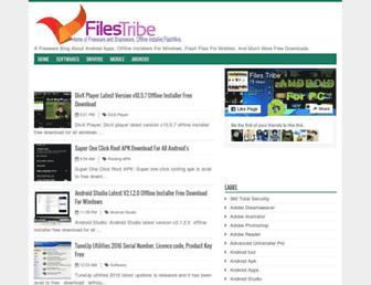 filestribe.net screenshot