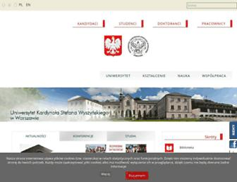 Fullscreen thumbnail of uksw.edu.pl