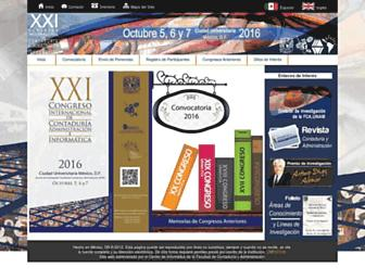 congreso.investiga.fca.unam.mx screenshot