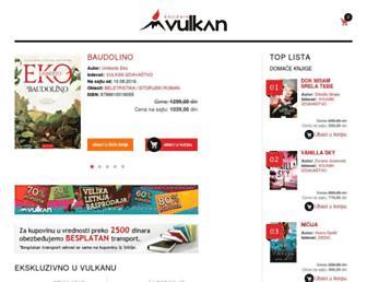 knjizare-vulkan.rs screenshot