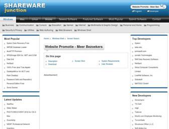 website-promotie---meer-bezoekers.sharewarejunction.com screenshot