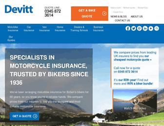 devittinsurance.com screenshot