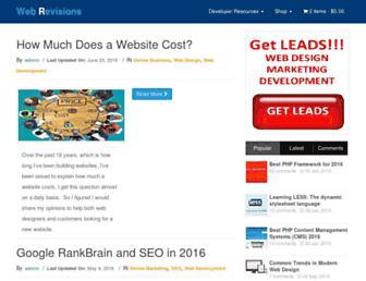 Thumbshot of Webrevisions.com